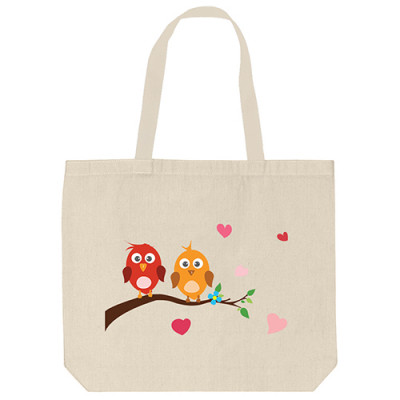 Tote Bags - Bird Home